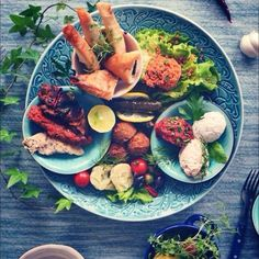 Meze, Lebanese Food
