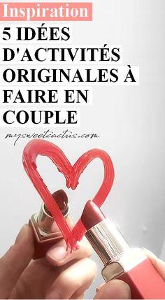 A la recherche d'idées originales d'activités à faire en couple ? Voilà 5 idées de choses à faire en amoureux. #idées #couple #amoureux #activité