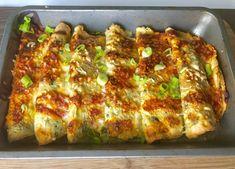 Pyszne naleśniki zapiekane z mozzarellą i warzywami - Blog z apetytem Frittata, Mozzarella, Tortellini, Crepes, Lasagna, Zucchini, Food And Drink, Dinner, Vegetables