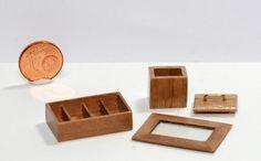 Teekästchen, Teedose 1:12 Design & handcraftet bei Kreamini