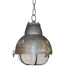 K.S. Verlichting Navigator Hanglamp Ø 25 cm - Aluminium kleur