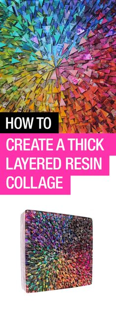 Learn how to pour a thick, multilayered coat of #ArtResin, with resin artist Josie Lewis #resinslab #resina #pour #epoxyresin
