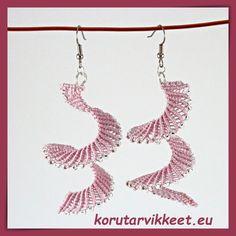 Earrings - micro macrame, made of S-lon and Toho seed beads. Micro Macrame, Beaded Jewelry, Jewellery, Seed Beads, Crochet Earrings, Crafts, Inspiration, Jewelery, Biblical Inspiration