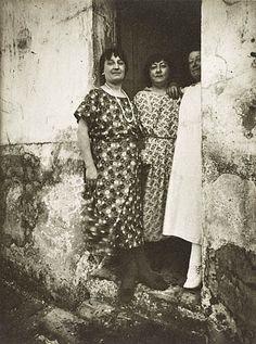 Three Prostitutes, rue Asselin (Getty Museum) - Eugene Atget