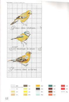 Gallery.ru / Фото #61 - Helene Le Berre - Les oiseaux a broder - velvetstreak