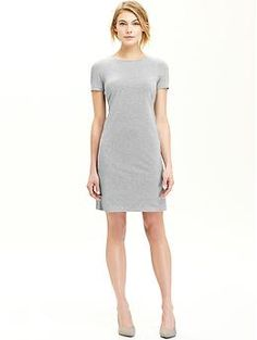 Womens Jersey Shift Dresses