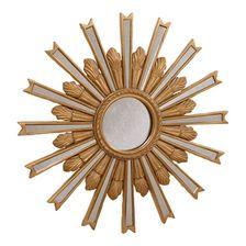 """20"""" Gold Starburst Mirror"""