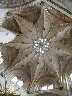 Bóveda estrellada de la Capilla de la Presentación.