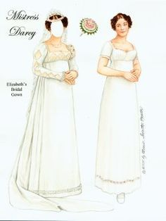 Paper dolls of Historical fashion by Brenda Sneathen Mattox. A student of fashion history and a collector of vintage women's fashion. Jane Austen, Paper Toys, Paper Crafts, Merry Widow, Anna Pavlova, Ziegfeld Girls, Paper Fashion, Vintage Paper Dolls, Pride And Prejudice