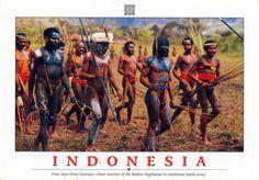 INDONESIA (New Guinea) - Dani Tribe in Baliem Valley (3)