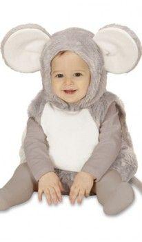 Disfraz de Ratón Capucha para Bebé