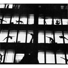 MARILYN WOOD  'CELEBRATING THE SEAGRAM', SITE-SPECIFIC CHOREOGRAPHY INSIDE MIES VAN DER ROHE'S SEAGRAM BUILDING, 1972