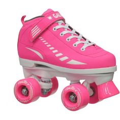 Epic Galaxy Elite Pink Quad Speed Roller Skates