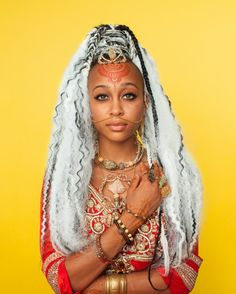 what a look Reign - Afropunk Hair Portraits by Artist Awol Erizku – Vogue