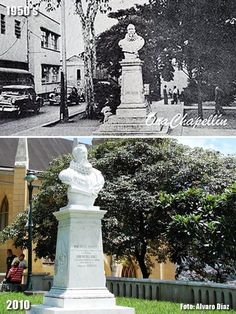 Busto de Cervantes (1950's-2010) Fabric Dolls, Statue, Retro, Outdoor Decor, Bella, Beautiful Places, City, Dawn, Antique Photos