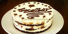 Ricetta cheesecake al cocco variegata all nutella senza cottura.