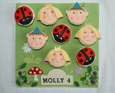 Ben and Holly's Little Kingdom Cupcakes