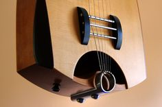 Rick Toone's Neutral-Tension Acoustic Bridge