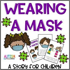 Many states are starting to require or encourage people to wear a mask if they are out in public. This is new for adults and kids. This story can help kids understand why they need to wear a mask and reassure them that it is okay. Preschool Learning, Kindergarten Classroom, Learning Resources, Preschool Activities, Classroom Routines, Classroom Ideas, Morning Meeting Kindergarten, Special Education Activities, Preschool Bulletin