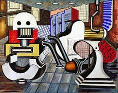 Machine Composition #2, 1937 Artist: I. Rice Pereira