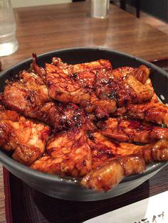 ああそう言えば、こんな時間ですが 札幌で食べた豚丼