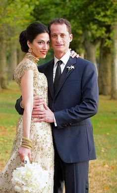 huma abedin wedding dress - Google Search