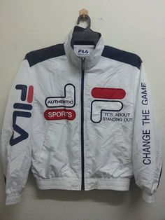 4563fd92da1c Vintage 1980s 90s Fila Sports Embroidered by SuzzaneVintage, $35.00 Fila  Vintage, Vintage Sport,