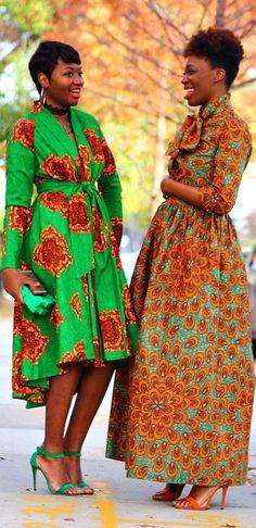 AUTUMN - Maxi Skirt Neck Tie Top Set - Plus Sizes Available Ankara | Dutch wax | Kente | Kitenge | Dashiki | African print bomber jacket | African fashion | Ankara bomber jacket | African prints | Nigerian style | Ghanaian fashion | Senegal fashion | Kenya fashion | Nigerian fashion | Ankara crop top (affiliate)