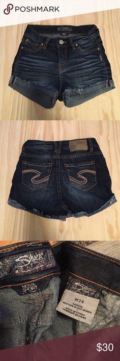 Jean shorts Silver brand Jean shorts style: nova short Silver Jeans Shorts Jean Shorts