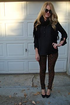 Joe's Jeans The WILD - leopard print skinny jeans!