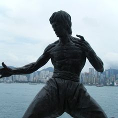 Bruce Lee in HongKong