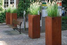 WALFiLii – stalen plantenbakken en vuurschalen | PLANTENBAKKEN IN COR-TEN®