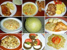 Salads, Menu, Dinner, Recipes, Vegetable Recipes, Cooking, Menu Board Design, Dining, Food Dinners