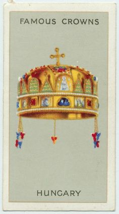 Wills Cigarettes Famous Crowns Crown Images, Smoking Is Bad, Collectible Cards, New York Public Library, Old Postcards, Crown Jewels, Ephemera, Royalty, Culture