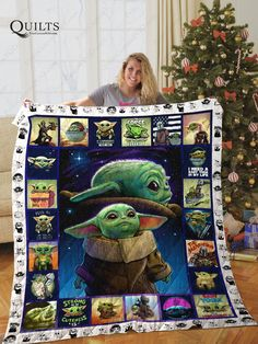23 Clever DIY Christmas Decoration Ideas By Crafty Panda Cuadros Star Wars, Star Wars Quilt, Star Wars Meme, Pokemon, Star Wars Baby, To Infinity And Beyond, Cultura Pop, Cool Stuff, Stupid Stuff