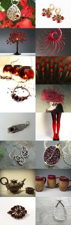 Garnet Reds by Naama on Etsy--Pinned with TreasuryPin.com