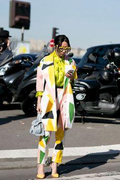 From Paris Fashion Week!