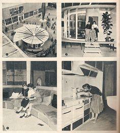 1959 Das Haus. Better interiors.