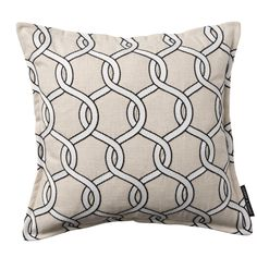 Gama Ropes Charcoal Square Cushion