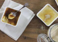 Crème brûlée à la vanille express Pudding, Lady, Food, Classic Desserts, Pasta Shells, Vanilla, Eten, Puddings