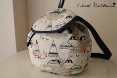 Mochila infantil / Toddler backpack/ kids bag by VioletDesvarie, €24.00