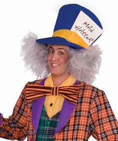 Forum Novelties Mens Mad Hatter Costume Wig Gray One Size * Read more reviews of the product by visiting the link on the image.