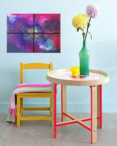 Petit originale abstraite peinture abstraite par VeronicaVilsanArt, $109.00