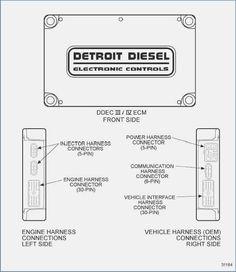 Detroit sel DDEC VI SERIES 60 MCM EGR Engine Harness ... on