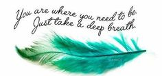 One of awesome Lana's awesome quotes with a beautiful awesome feather