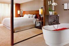 Das Master-Badezimmer der Westin Sky Suite