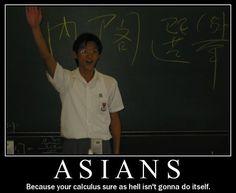 Asians calculus