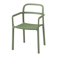 IKEA - YPPERLIG, Armchair, in/outdoor, Durable and hard-wearing. Meets the requirements on furniture for public use.No assembly or screws to re-tighten, since the Chaise Ikea, Ikea Chair, Chair Bench, Ikea Garden Furniture, Outdoor Dining Furniture, Outdoor Chairs, Ikea Outdoor, Furniture Dolly, Furniture Online
