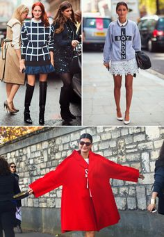 BEST STREET STYLE OUTFITS OF 2012 | Vestidos de Fiesta, Ropa de Moda | D-Shopping