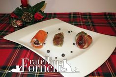 A delicious trio of rolls with dates to begin an original Christmas dinner - Fratelli ai Fornelli